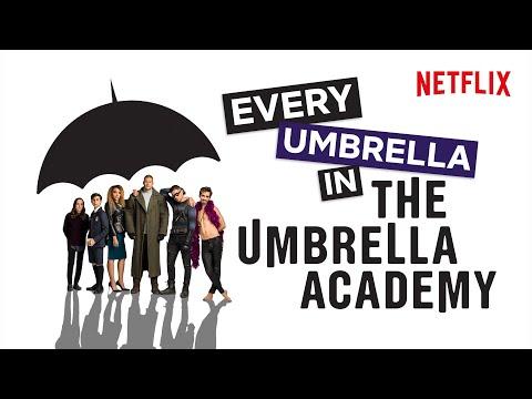 Every Single Umbrella In The Umbrella Academy | Netflix