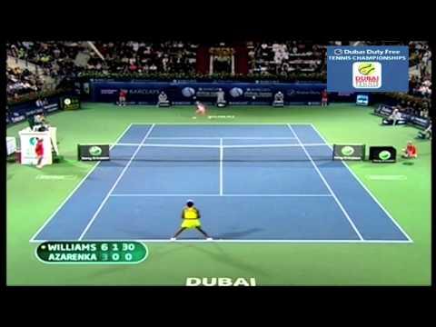 Venus Williams v. Victoria Azarenka | 2010 Dubai Highlights