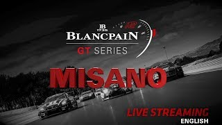 Race 1 - Misano - Blancpain Gt Series 2018 - English