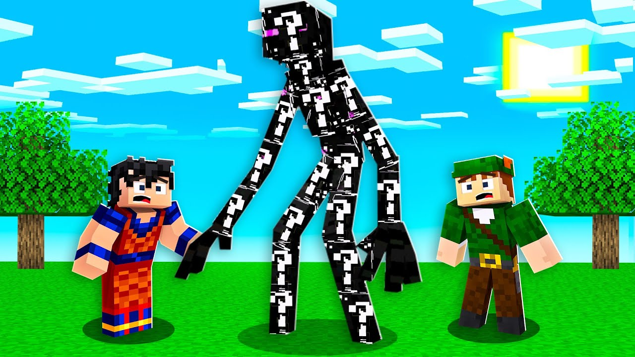 SOBREVIVA AO DESAFIO DO ENDERMAN MUTANTE DE LUCKY BLOCK PRETO NO MINECRAFT!!