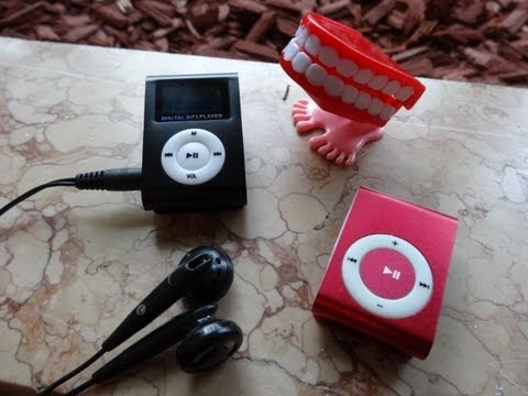 China MP3 Player für 1,90 und  5,28 Euro - taugen die was ???