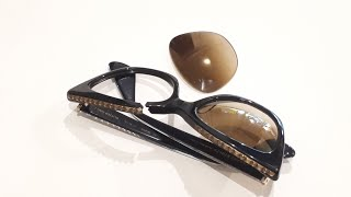 Очки Chrome Hearts. Ремонт пластиковой оправы. Glasses repair.