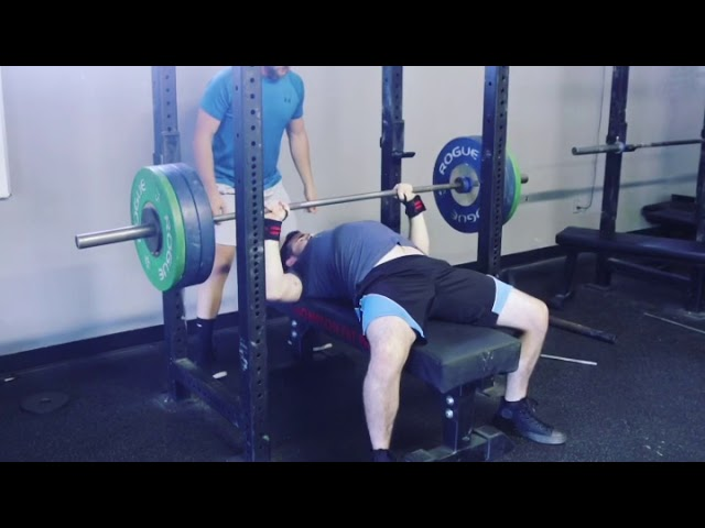 Power Hour max out bench