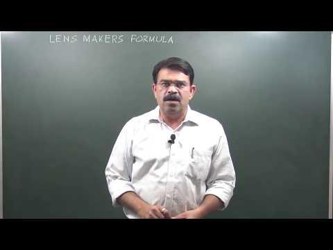 CLASS XII _LENS MAKERS FORMULA  1