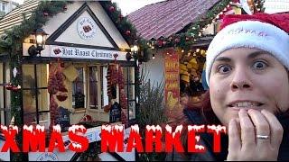 Andie te enseña el mercado de la navidad de Nottingham | Vlog