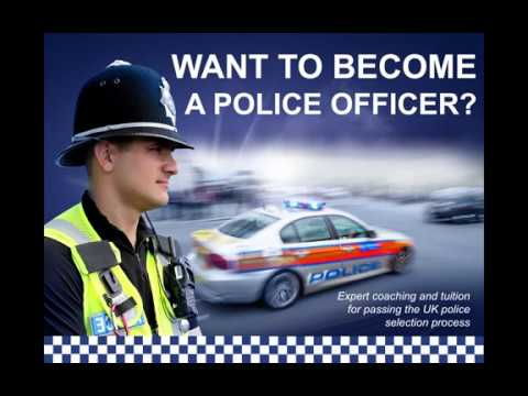 i want to become a police