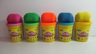 Яйца с сюрпризом открываем игрушки Play Doh Surprise Eggs with Surprise Toys Angry Birds