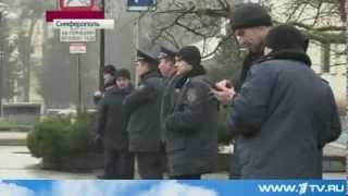 Парламент Крыма собирается объявить референдум  Последние новости Украина Крым сегодня 27 Февраля