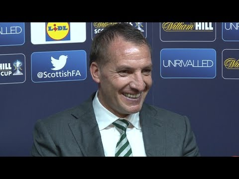 Celtic 2-1 Aberdeen - Brendan Rodgers Full Post Match Press Conference - Scottish Cup Final