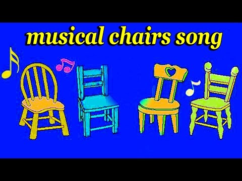 Happy Birthday Song - Musical Chairs Game Song -  Happy Birthday To You....