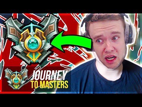 WEIRDEST EPISODE..I COSPLAY PANTS TO MASTERS  Journey To Masters  League of Legends