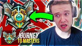 WEIRDEST EPISODE..I COSPLAY PANTS TO MASTERS - Journey To Masters   League of Legends