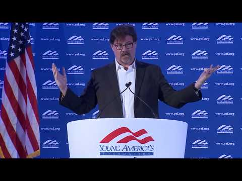 Jonah Goldberg LIVE from GWU at YAF's 39th NCSC