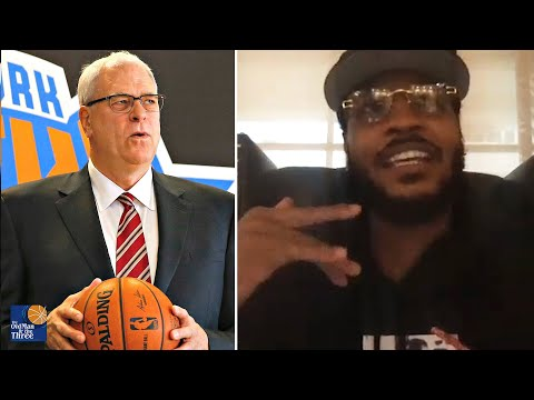 Carmelo Anthony On Why The Triangle Offense Didn't Work In New York