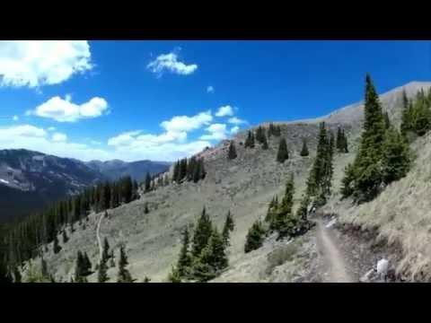 Hiking Wheeler Peak near Taos NM