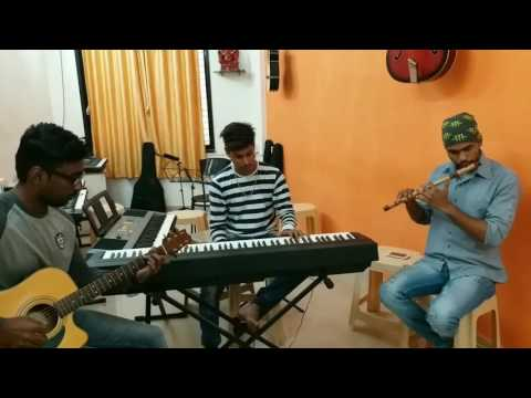Khulta Kali Khulena Instrumental By Pramod,paresh,saurabh & Video By Ronak.