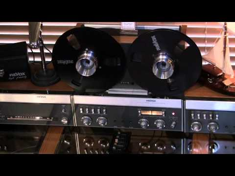 Studer ReVox Tape Recorder History and Demonstration by Phantom Productions, Inc.