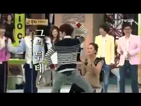 100214 Jo Kwon (2AM) - Lee Hyori's 10 Minutes Dance Cut