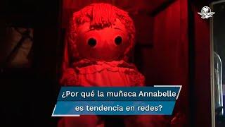 El caso de Anabelle se hizo mundialmente famoso por la saga de películas con el mismo nombre, aunque la muñeca usada en las mismas es muy diferente a la que se encuentra en el museo