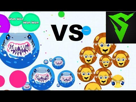 Agar.io - Wun Wun vs Sirius in FFA