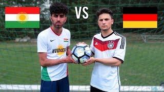 KURDISTAN vs DEUTSCHLAND WM Elfmeter Challenge !!!