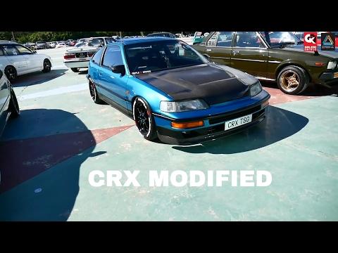 Honda CRX Modified By Triple S Garage - Borneo Kustom Show 2017