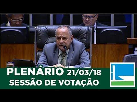 PLENÁRIO - Sessão Deliberativa - 21/03/2018 - 13:00