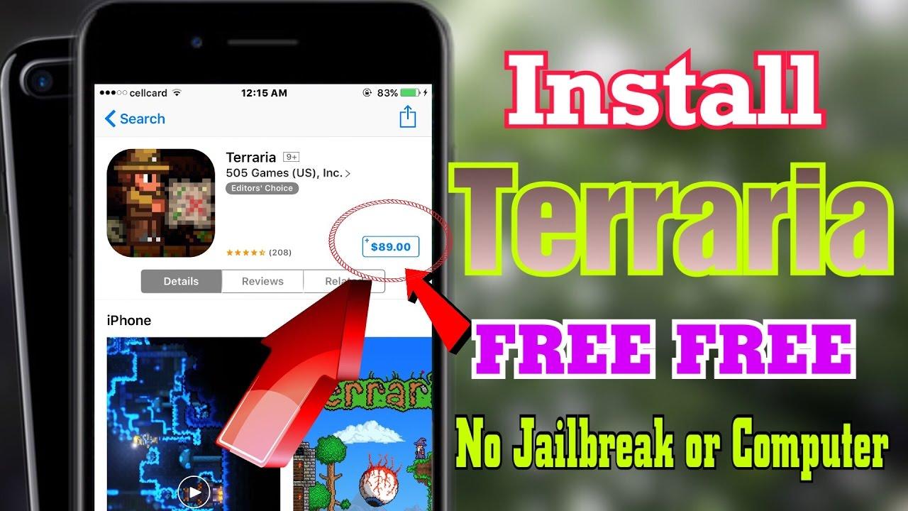 terraria free iphone