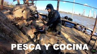 PESCA Y COCINA EN LA ISLA