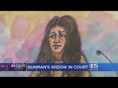 Widow Of Orlando Nightclub Gunman Appears In Court To Face Federal Charges