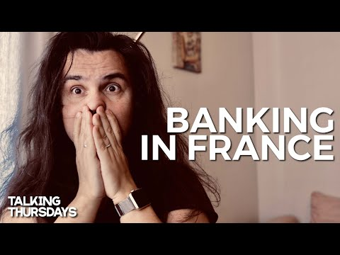 BANKING IN FRANCE | How difficult is it to open a bank account in France?Talking Thursdays Vlog #1