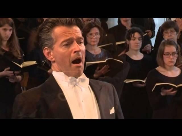 Julian Hartman - Christus-partij, Stephan Adriaens - Evangelist, Mattheus Passion  J.S.Bach 2014