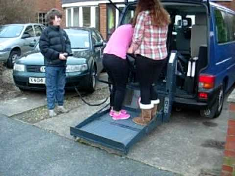 ricon k series wheelchair lift for sale on ebay youtube