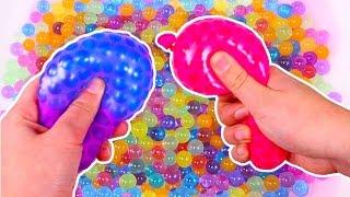 🎈 LOS COLORES 🎈 Con globos llenos de Orbeez | Juegos para niños en Español