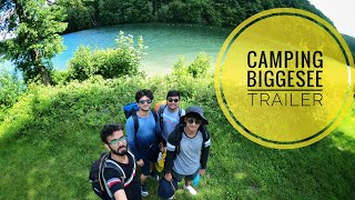 CAMPING BIGGESEE  (Trailer) | First Camping Experience in Germany