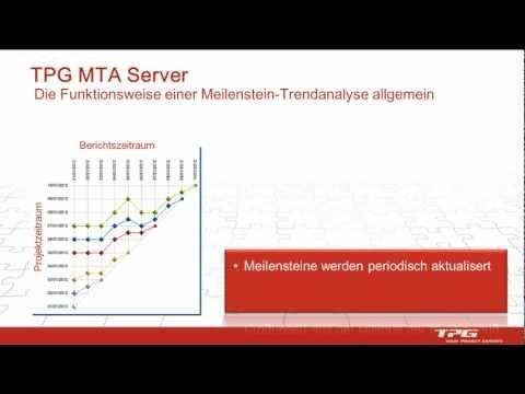 So funktioniert eine Meilenstein-Trendanalyse - MTA - für Microsoft Project