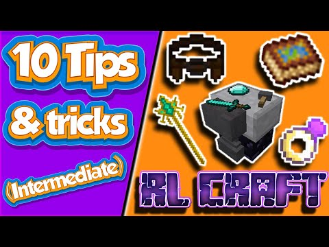RLCraft 10 More Tips and Tricks | Quick Tutorial/ Guide