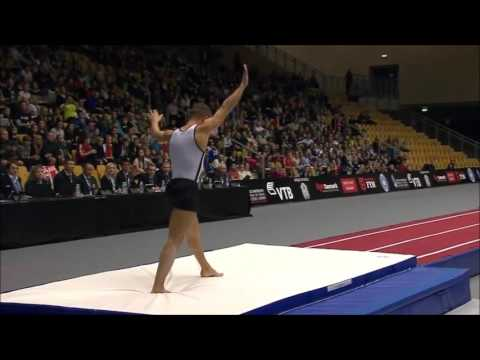 Michael Chaves CAN 2015 Team World Tumbling Final