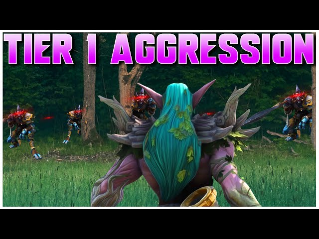 Grubby   WC3   TIER 1 AGGRESSION!