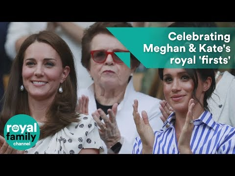 Celebrating Meghan Markle and Kate Middleton's royal 'firsts'