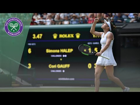 Simona Halep vs Coco Gauff Wimbledon 2019 highlights