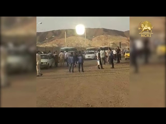 """KASHAN, Iran, June 10, 2018 strike in the """"Combined Cycle Plant"""""""