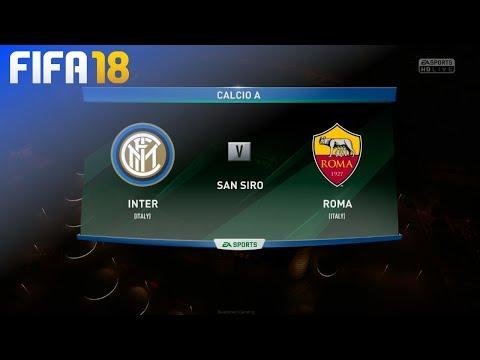 FIFA 18 - Inter Milan vs. AS Roma @ San Siro