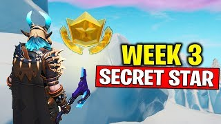 WEEK 3 SECRET BATTLE STAR LOCATION! Fortnite Season 10 - Secret Battle Star Week 3