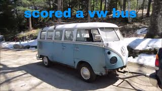 Barn Find 1966 Vw Bus Found In Northern New Hampshire