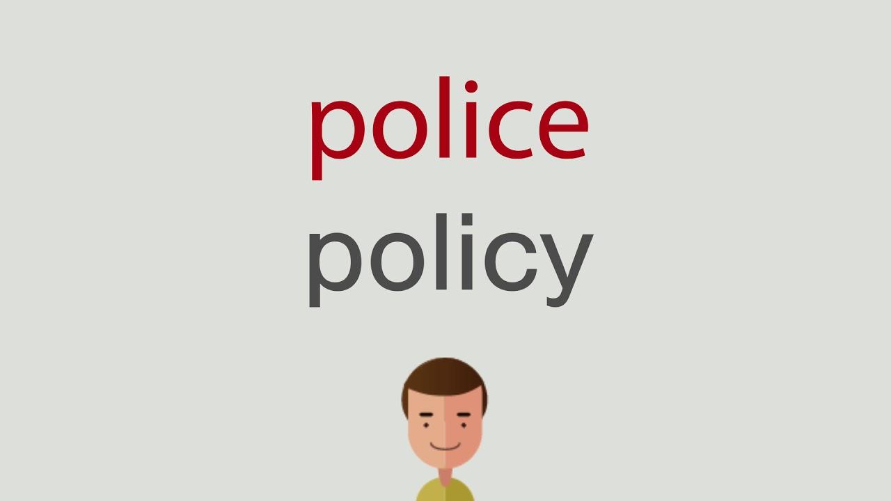 Cop �Bersetzung