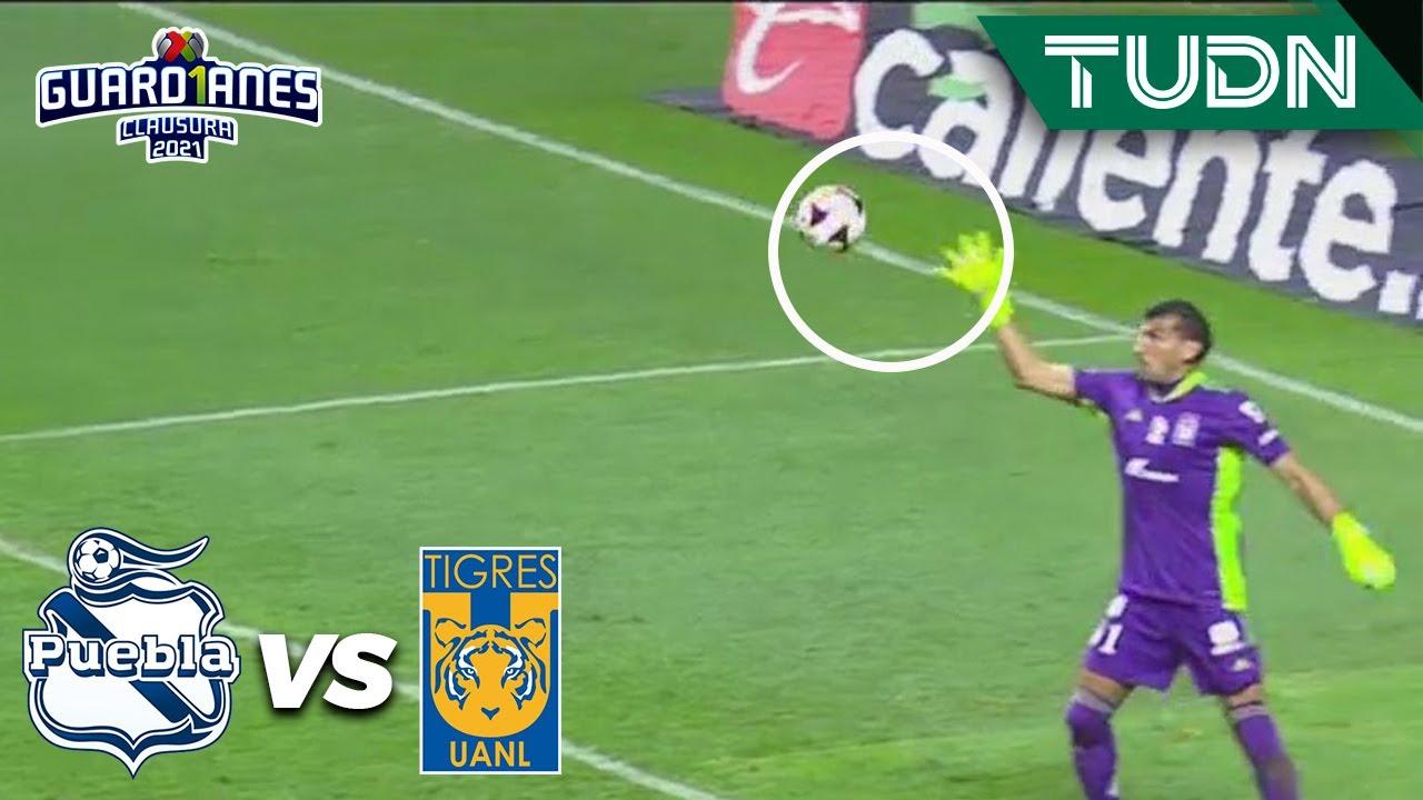 ¡ATAJADÓN! Nahuel salva a Tigres | Puebla 1-1 Tigres | Torneo Guard1anes 2021 Liga MX - J10 | TUDN