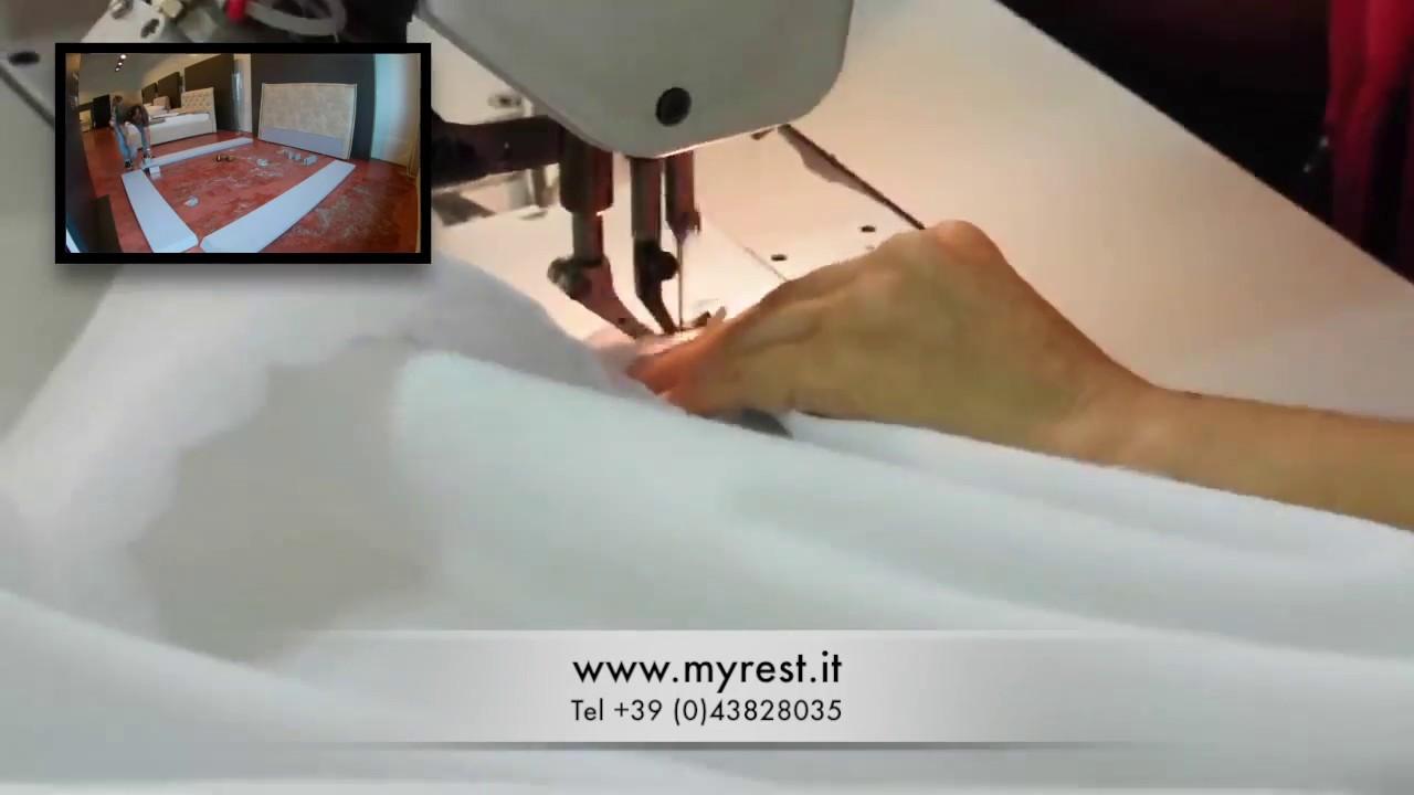 produzione letti imbottiti - youtube - Letti Imbottiti Treviso
