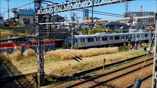 東急2020系 甲種輸送 八王子駅周辺 (2020年3月25日撮影)