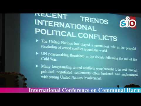 The Role of United Nations in Conflict Resolution and Peace building @ICCHNB 2015